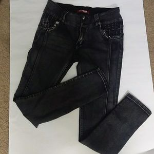 712d975b9a Women Black Girls In Tight Jeans on Poshmark